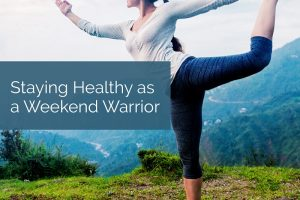 : Do you love sports? Here are a few surprising facts and actionable tips to stay healthy as a weekend warrior.